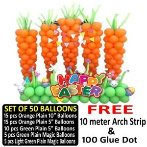 Easter Balloons Party Ware Decoration Bonnet Bunny Theme Novelty Gift Balloons