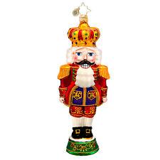Christopher Radko - Otto Von Cracker - Nutcracker - Jeweled Ornament 1017260