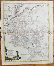 Zatta Large Original Map Archangelsk Russia  - 1779