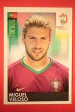 Panini EURO 2008 N. 112 MIGUEL VELOSO PORTUGAL NEW With BLACK BACK TOPMINT !