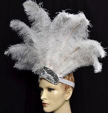 Carnival Ostrich  Feathers Headdress