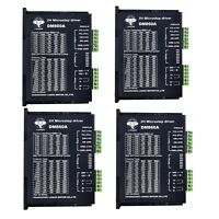 4PC Stepper Motor controller Drivers DM860A 7.8A  24VDC~80VDC&Board for Nema34/2