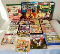 New & Light Used PC Game Lot Bundle Wholesale  Games RayMan 2 Wild West Shootout
