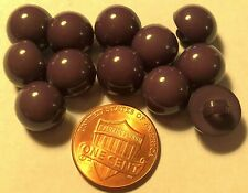 20mm Oval Leather Look Buttons Buttons for sewing and knitting B215