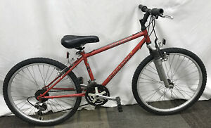 "1996 Red Specialized 14"" Shock Rock  Youth Mountain Bike 18 Speed 24"" Wheels"