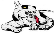 Écusson patche chien dalmatien patch badge brodé thermocollant