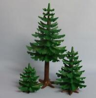 Playmobil Forest Pine / Fir Tree (s) Redwood Three - house park farm castle NEW