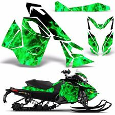 Decal Graphic Wrap Kit Ski Doo Sled Snowmobile REV XS Renegade MXZ 13+ ICE GREEN