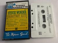 Tested Working 1975 Stevie Wonder Greatest Hits Cassette Tape Motown Sound Tamla
