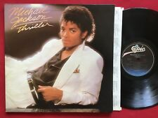 MICHAEL JACKSON ~ THRILLER (1982) EPIC QE 38112 STEREO LP EX