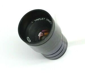 Vintage Lomo Triplet 2.8/78mm USSR projection Lens for creativity Belomo