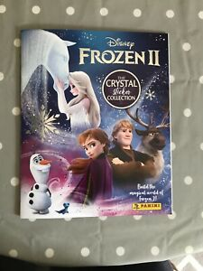 Panini Frozen 2 The Crystal Sticker Collection Official Album Elsa Anna Disney