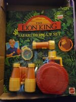 Rare Vintage Disney Lion King Mattel Safari Dress Up Set New