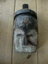 More details for  west african wood tribal mask - no 1