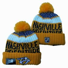 Nashville Predators New Era Beanie NHL Hat Adult Size