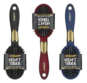 NEW CONAIR VELVET TOUCH BRUSH