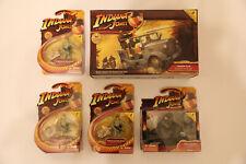 Indiana Jones Desierto Chase Lote #3 - alemán personal de coche, moto, soldados Nuevo en Paquete