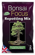 Bonsai Focus Repotting Mix 2L - Compost, Bonsai Tree Nutrients