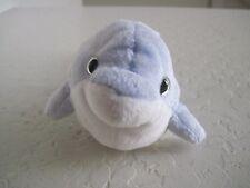 "TY CLIPPER The Dolphin Ocean Blue Fish Beanie Plush Stuffed Animal 8"""