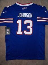 Buffalo Bills STEVIE JOHNSON nfl NIKE Jersey YOUTH KIDS *GIRLS* (m-medium)