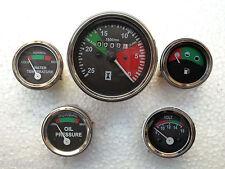 Massey Ferguson Gauge Kit-  Tachometer  Temp Gauge  Oil Pressure  Volt  Fuel
