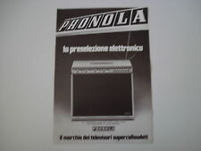 advertising Pubblicità 1973 TELEVISORE PHONOLA 17 POLLICI