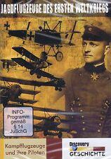 DVD - Jagdflugzeuge des Ersten Weltkrieges - Kampfflugzeuge und ihre Piloten