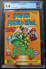 SUPER MARIO BROS #1 Valiant Nintendo Comics 1991 Piranha-Round Sue CGC NM+ 9.6