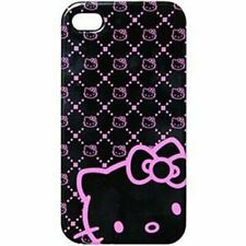 iPhone 4 Hello Kitty Licensed Polycarbonate Phone Case Pink Neon