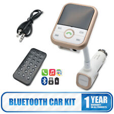 Universal Bluetooth Handsfree Car Kit MP3 TF FM Transmitter GPS 2.1A Charger