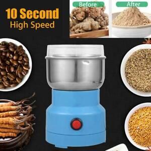 2L Electric Herb Grain Mill Grinder Household Cereal Flour Powder Grinding UK