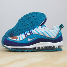 Nike Air Max 98 Wild West Denim Paisley Blue Bv6045 400 Men's Sz 12 RARE