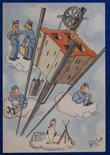 MAK TT 100 Corso Vulcano Regia Aeronautica   illustrata NV FG anni 40 #21349
