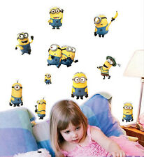 Despicable Me 2 Minions Removable Wall Sticker Art Decal Kids Room Nursery Decor