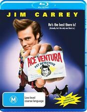 Ace Ventura - Pet Detective (Blu-ray, 2013, 2-Disc Set) New, ExRetail (D145)