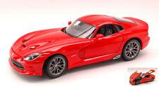 Dodge Viper Srt Gts 2013 Red 1:18 Model MAISTO