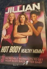 JILLIAN MICHAELS Hot Body Healthy Mom Baby Weight Exercise DVD Workout New !!!