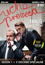 Ucho Prezesa Sezon 1 DVD Polski Serial Szybka Wysylka Z PL Film