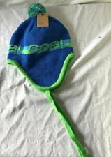 Coal Switch Flap Knit Hat Beanie Royal Blue Green Adult One Size Fits All NEW