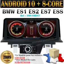 autoradio android 10  8-core pour BMW Série 1 E81 E82 E87 E88 carplay intégré