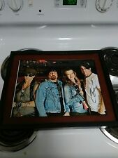 Jackyl Rock Music Signed 11x14 Framed Photo Jessie James Dupree Roman Glick