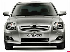 Toyota AVENSIS T25 - RADIATOR GRILL CHROME 3M tuning sport grill