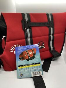Paws Aboard LIFEGUARD Red Neoprene Dog Life Vest Jacket MEDIUM M 20-50 LB A4