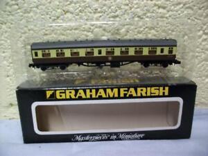 63' Mk1 Corridor 2nd [SK] Coach W24167 By Graham Farish No 0684 'N' Gauge, Boxed