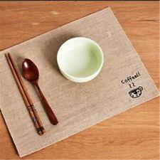 Non-Slip Simple Style Mats Dining Table Mat Heat Insulation Tableware Pad KS