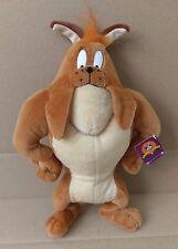 "NWT Hector The Bulldog Looney Tunes 13"" Plush Stuffed Animal NANCO Bugs Bunny"
