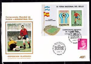 Soccer 1978 D14 cover Spain World Cup Emblem Football