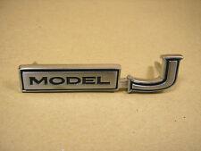 1969 1972 Pontiac Grand Prix Trunk ''Model J'' Emblem, C8704042R