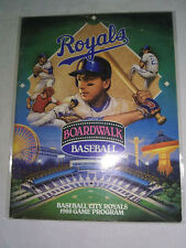 More details for baseball city royals 1988 florida state minor league program inc scorecard