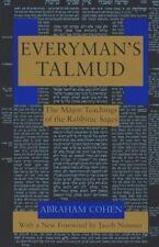 Everyman's Talmud: The Major Teachings of the Rabbinic